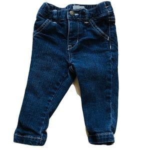 BABY GAP Girls Skinny Fit Blue Jeans I 12-18 M